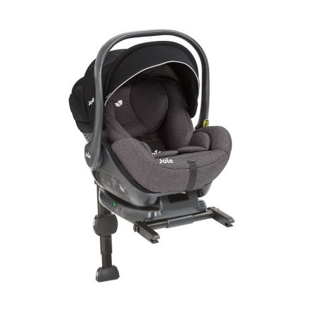 Joie i-level car seat carrier lie flat from birth up until 13 kg with isofix base