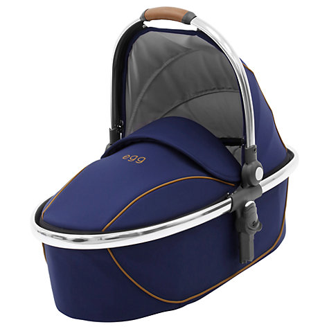 Egg Carrycot Regal Navy - Chrome Chassis