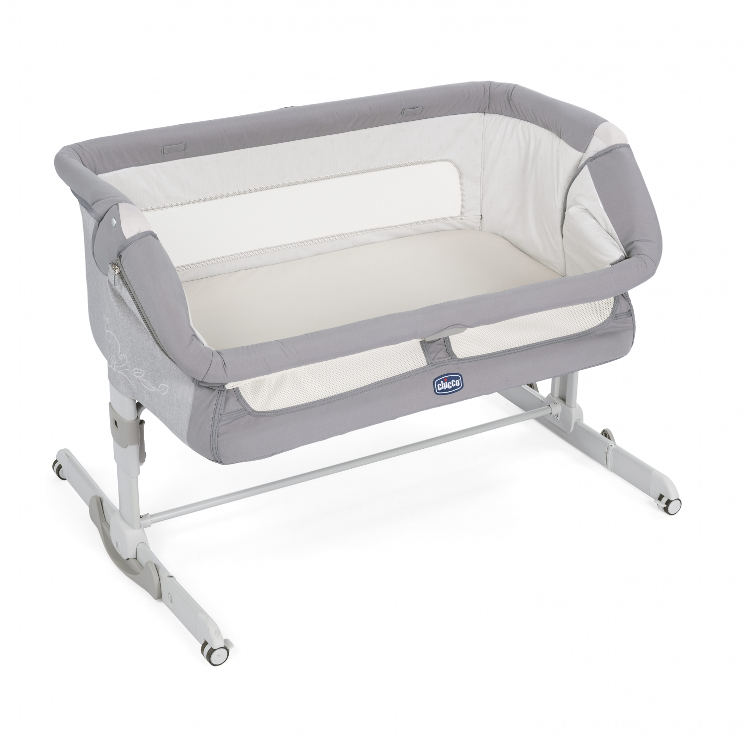New Chicco Next 2 Me Dream Bed Side Crib Drop Side - Graphite