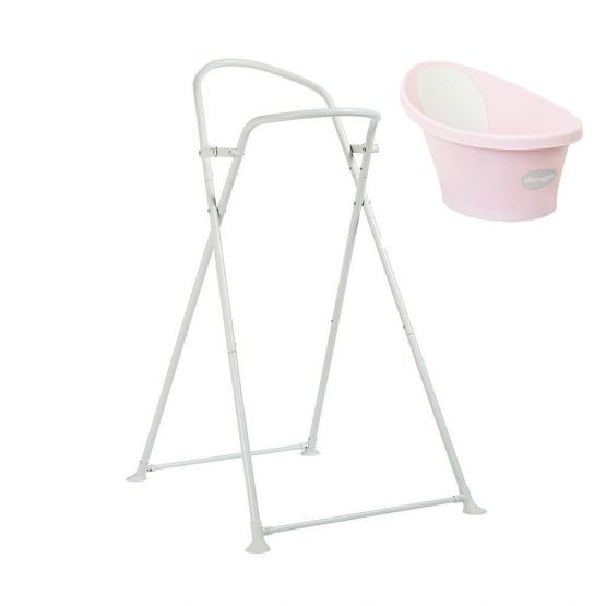 snuggle new bath stand pink