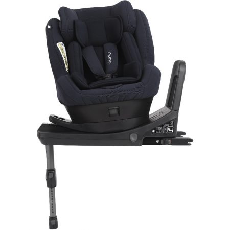 Nuna Rebl Plus Indigo from birth to 4 years swivel car seat
