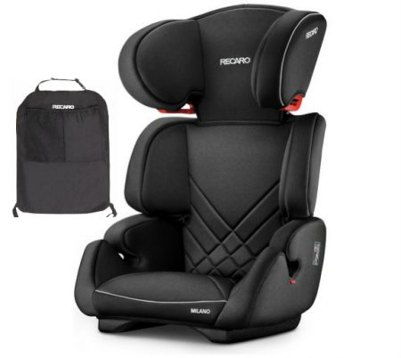 Recaro Milano Performance Black car seat from 15 kg to 12 years
