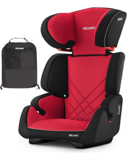 Recaro milano racing red with recaro bag