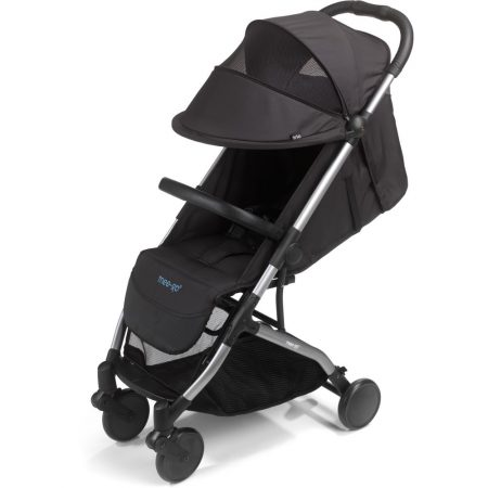 mee go pushchair extendable hood jet black