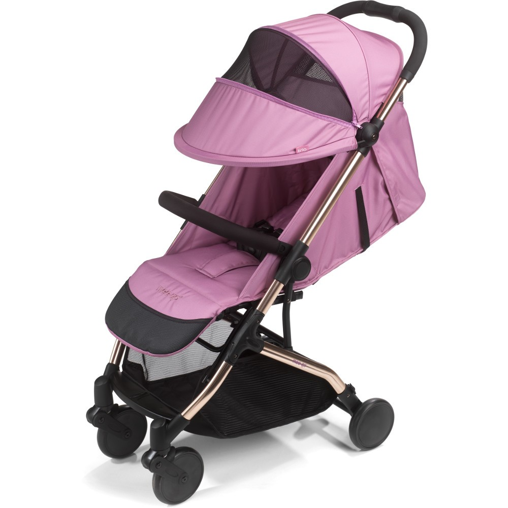 Mee-go Trio Stroller - Orchid Pink