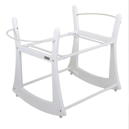 East Coast Moses Basket Rocking Stand to fit Moba - White