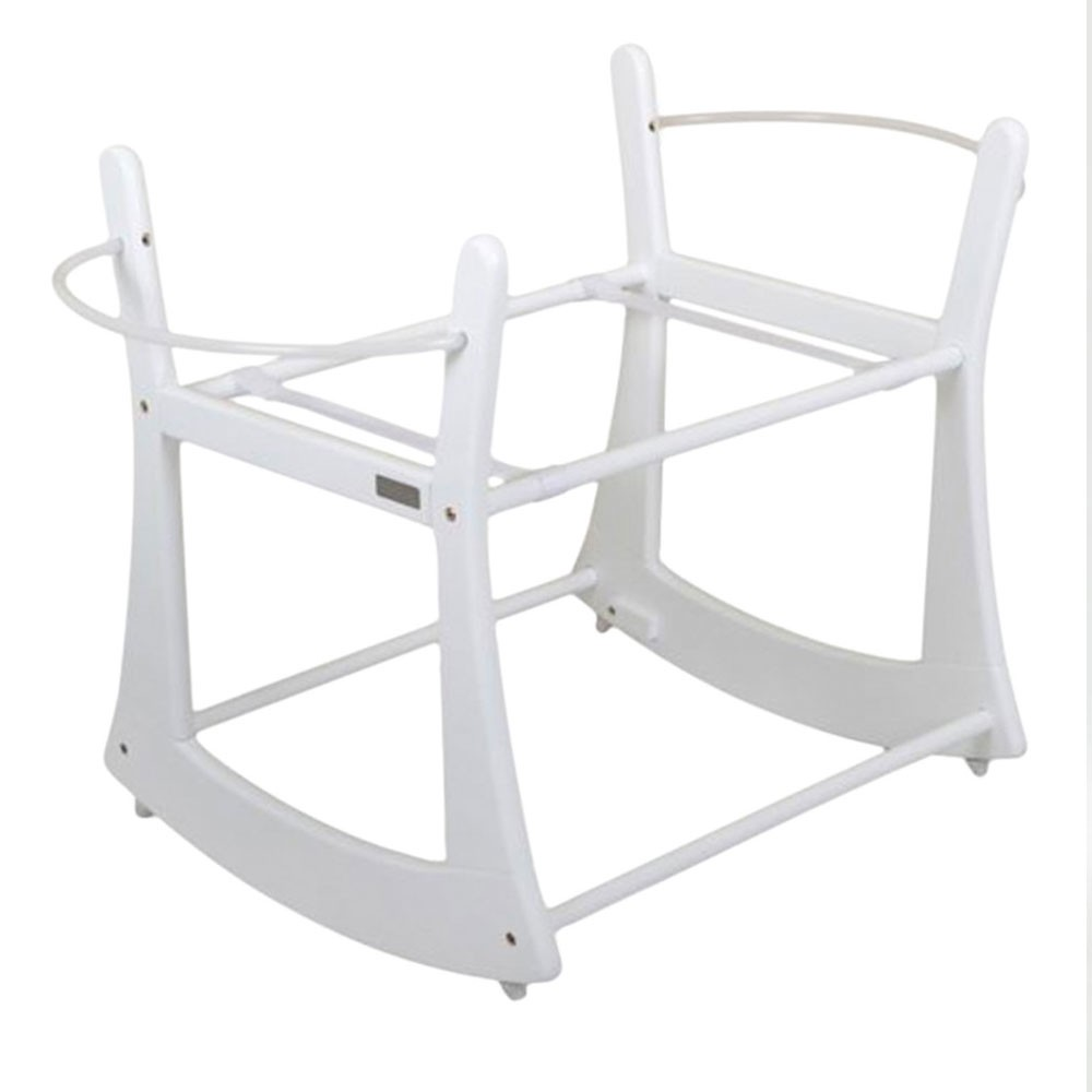 Moba Moses Basket Rocking Stand - White