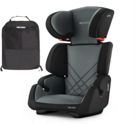 recaro milano carbon black from 15 kg to 11 years