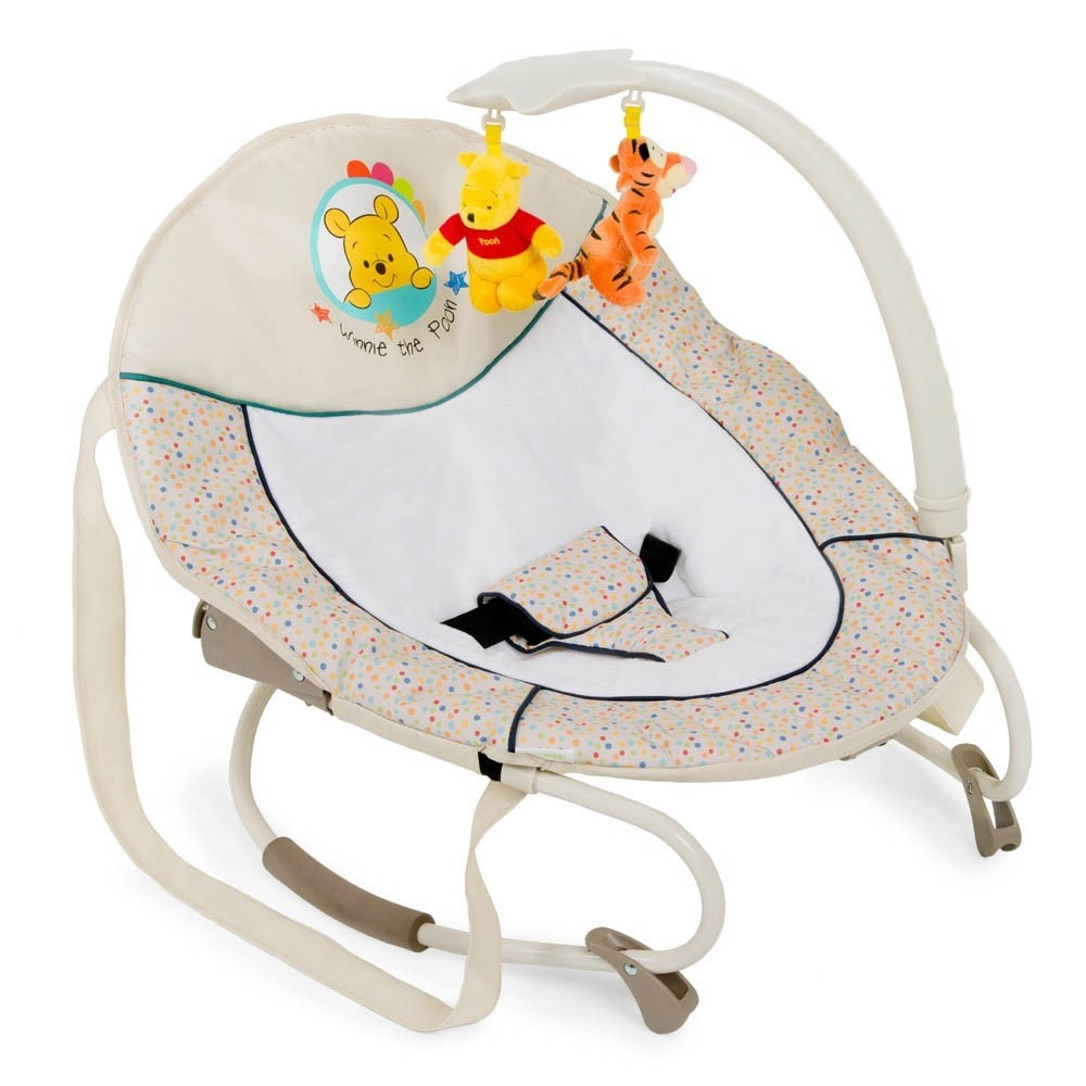 Hauck Bungee Leisure Baby Bouncer Chair - Pooh Ready To Play