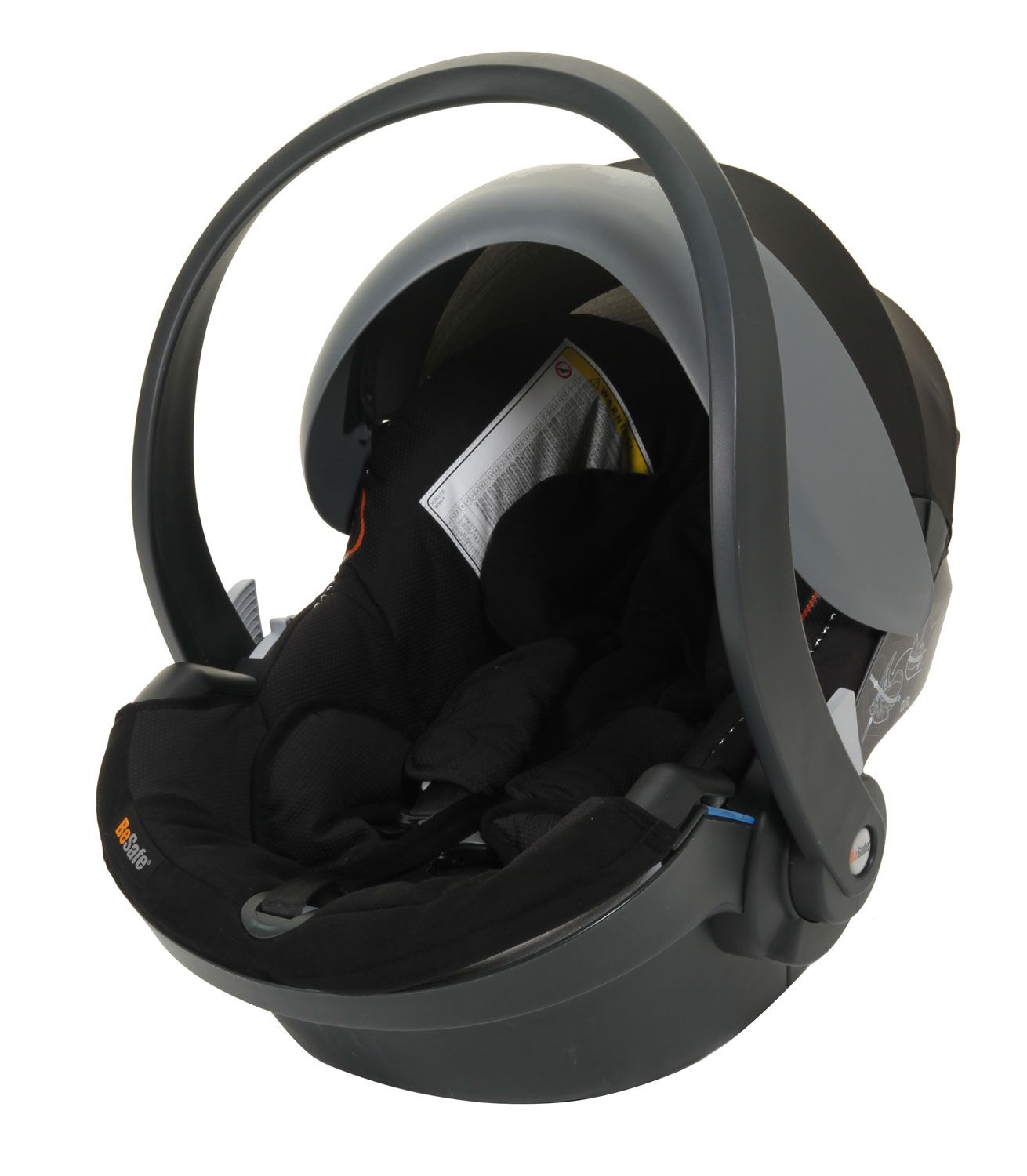 BeSafe IZi Go X1 Car Seat Baby Carrier From Birth to 9kg - Black Cab