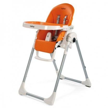 peg perego prima pappa zero3 high chair arancia