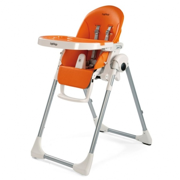 Peg Perego Prima Pappa Highchair From Birth Arancia