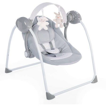Chicco Relax & Play Swing - Cool Grey