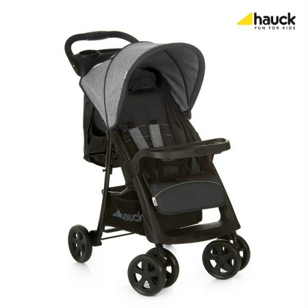 Hauck shopper Neo II Melange grey from birth pushchair buggy