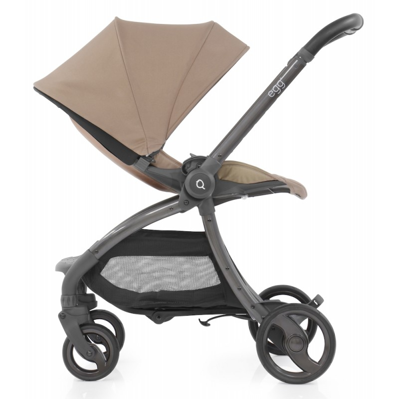 Egg Quail Stroller - Latte includes matching back panel