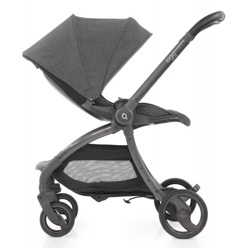 Egg Quail Stroller - Quantum Grey including matching back panel