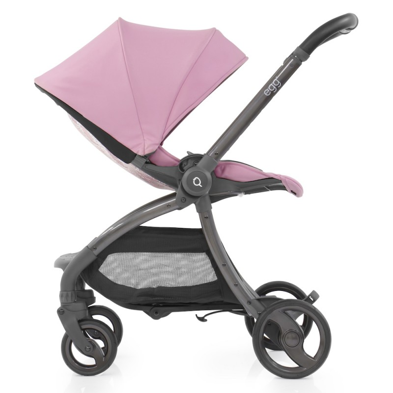 Egg Quail Stroller - Strictly Pink includes matching back panel
