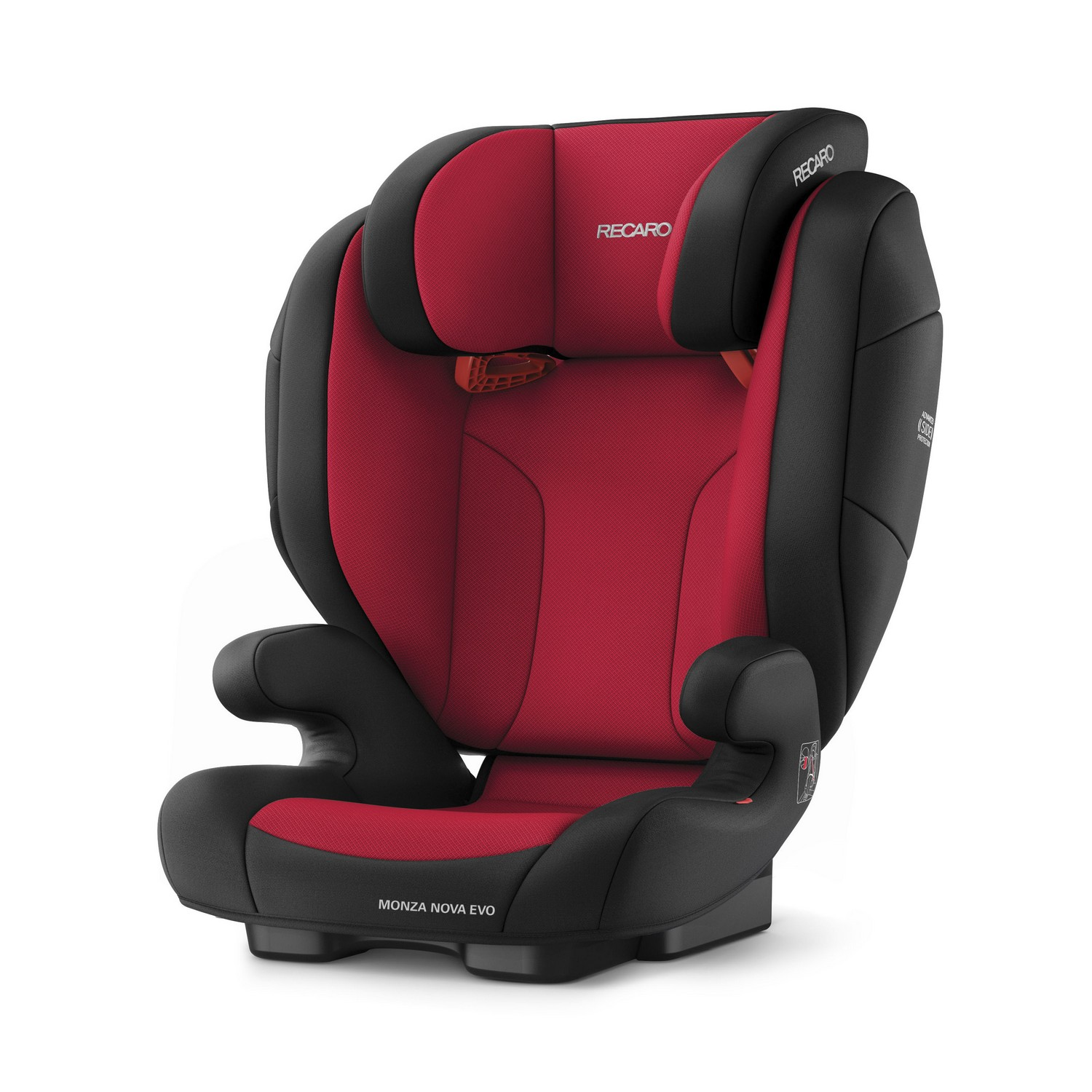 Recaro Monza Nova Evo Group 2 3 Car Seat Belted Racing Red