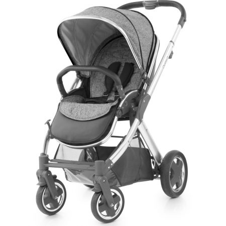babsytyle oyster pushchair wolf grey