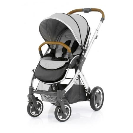 babystyle oyster 2 mirror pushchair tan handle pure silver