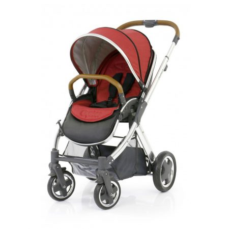 babystyle oyster 2 pushchair mirror chassis tango red