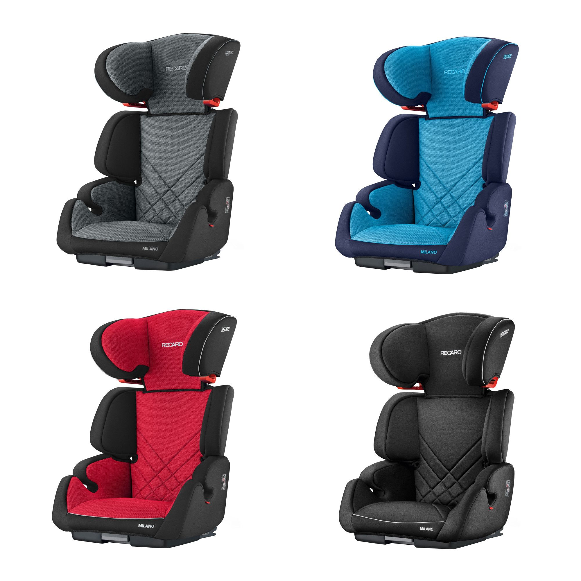 0d4c288d9a4 Recaro Milano Group 2 3 Car Seat Non Isofix - Racing Red