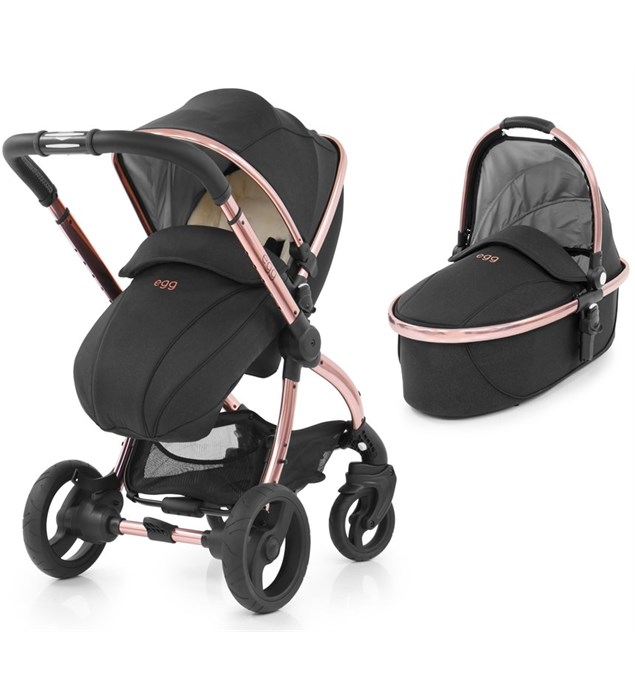 Egg Diamond Includes: Pushchair, Carrycot, Fleece Seat Liner + Raincovers