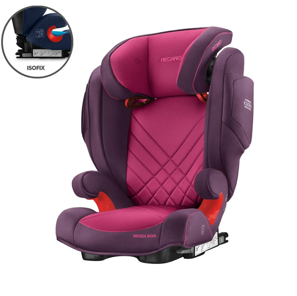 Recaro Monza Nova 2 Seatfix Berry Pink Group 2 3