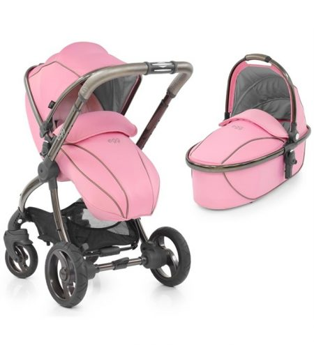 Egg Strictly Pink Pram and carrycot
