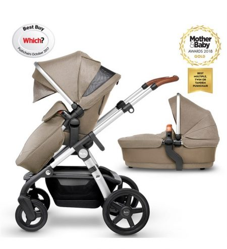 silver cross wave pushchair and carrycot linen