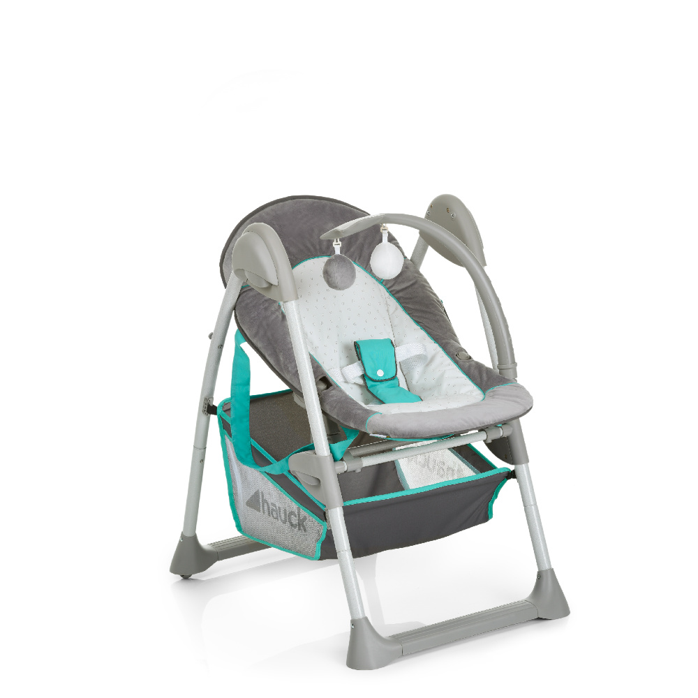 Hauck Sit N Relax Hearts Highchair Bouncer Removable