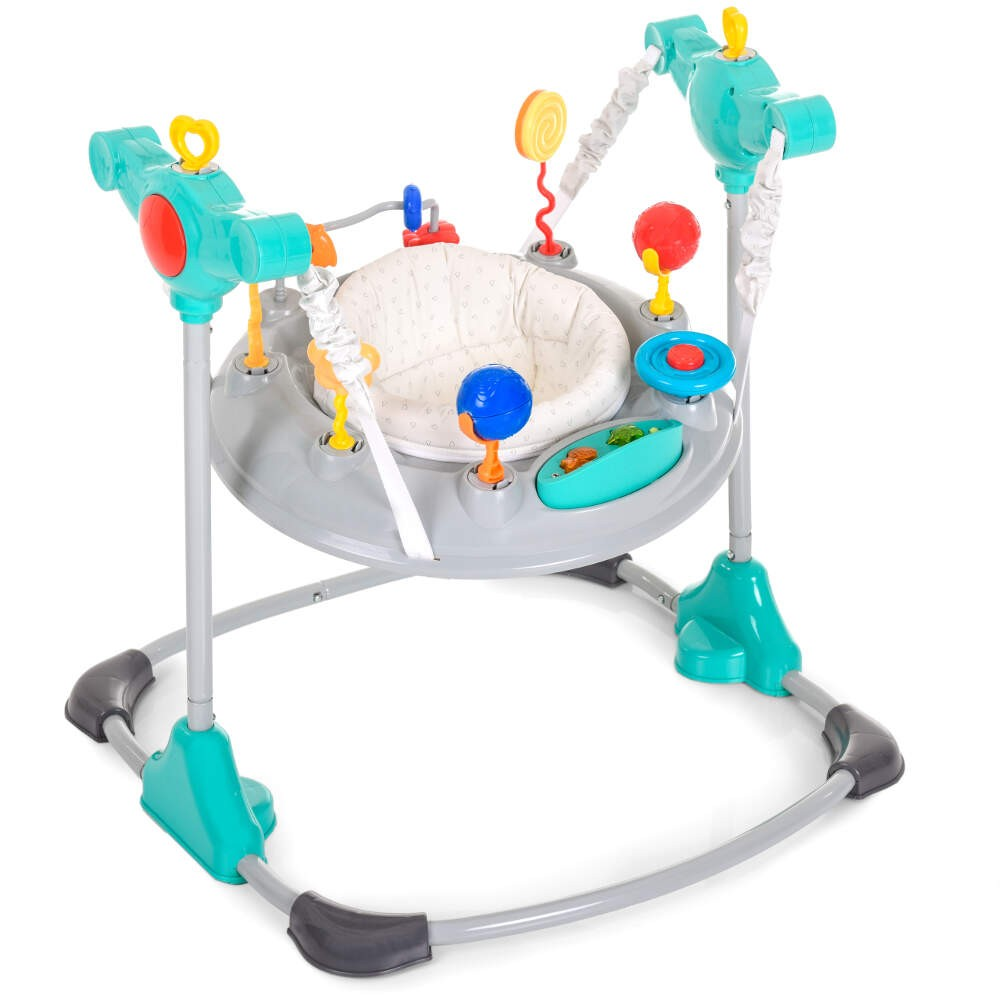 Hauck Jump Around Hearts - Bouncer / Swing / Chair Includes Toy Bars