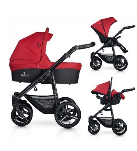 Venicci 3 in 1 Travel System Red