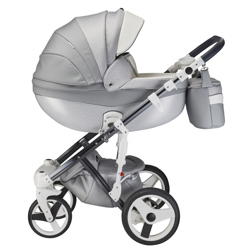 Mee-go Milano Travel System Package - Special Edition Silver Charm