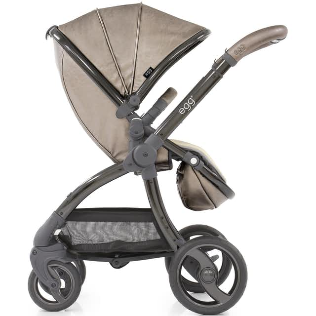 Babystyle Egg Titanium Pushchair with Changing Bag & Liner