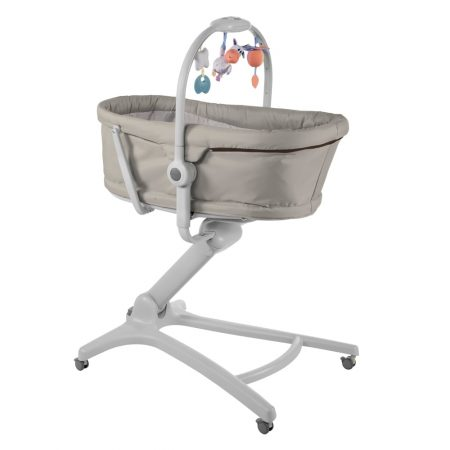 Chicco 4 in 1 Baby Hug Crib Highchair - Legend Grey