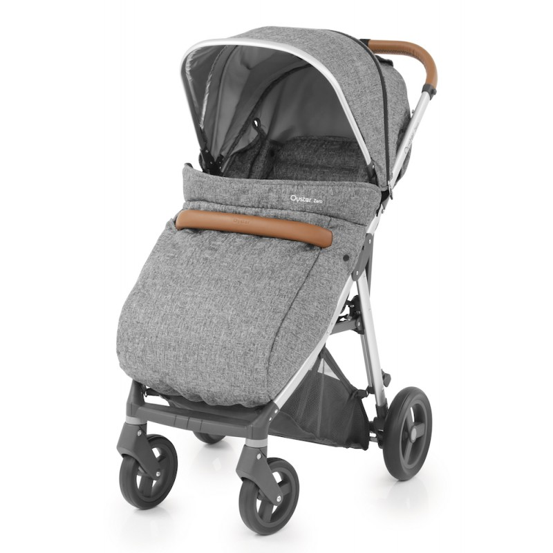 BabyStyle Oyster Zero Wolf Grey Special Edition inc Apron + Raincover