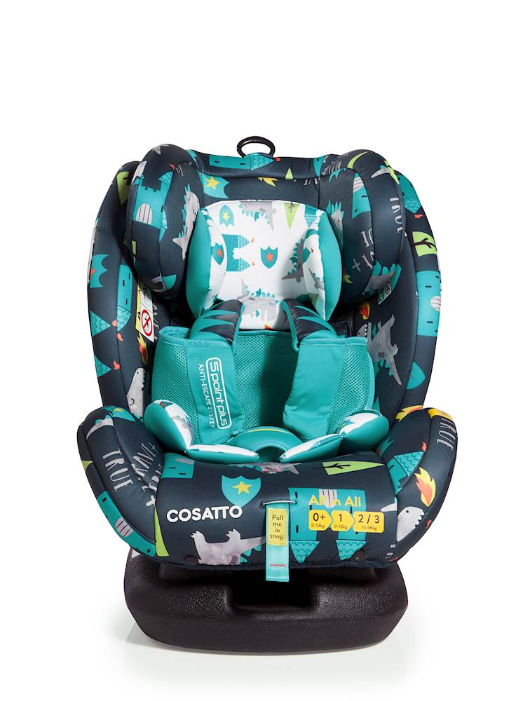 Cosatto All in All Car Seat - Group 0+/1/2/3 - Dragon Kingdom