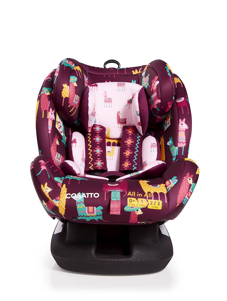 Cosatto All in All Car Seat - Group 0+/1/2/3 - Llamarama