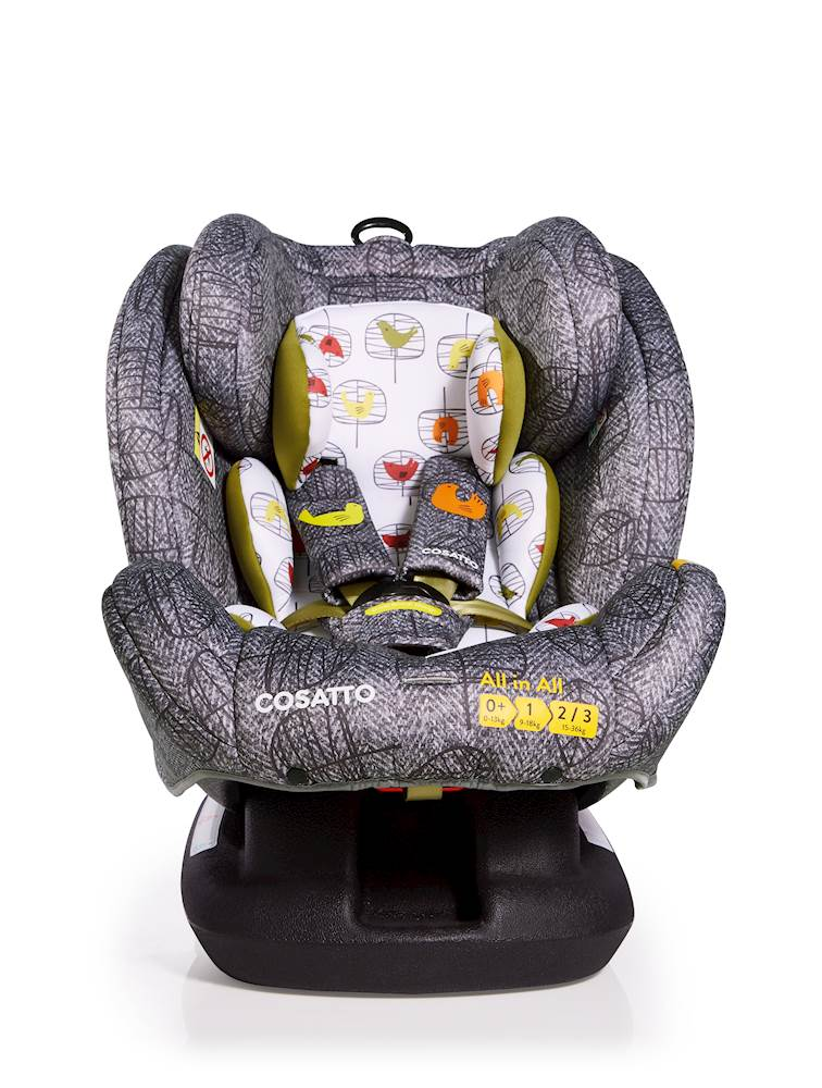 Cosatto All in All Car Seat - Group 0+/1/2/3 - Dawn Chorus