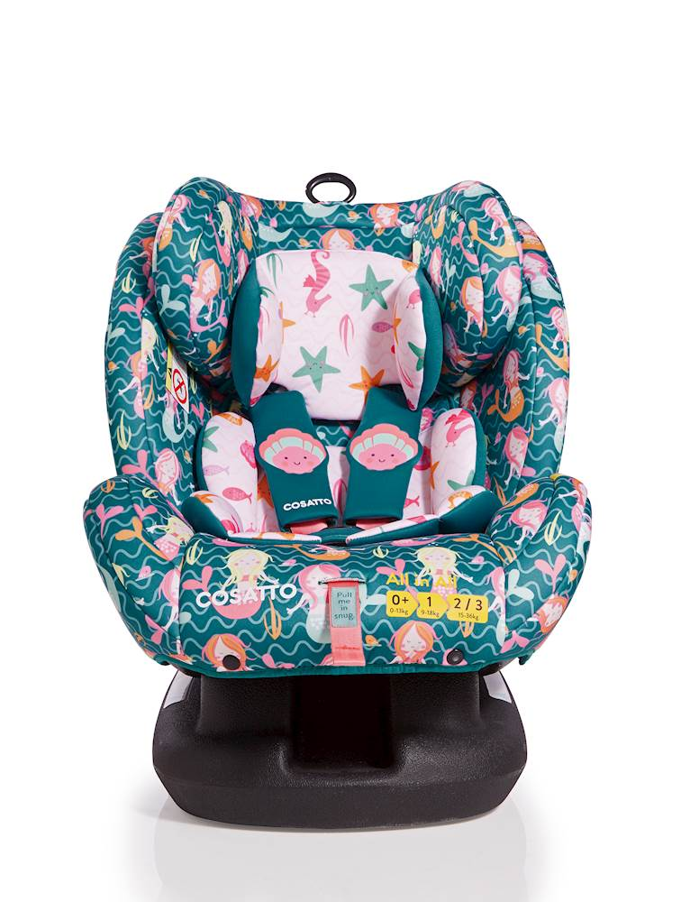 Cosatto All in All Car Seat - Group 0+/1/2/3 - Mini Mermaid