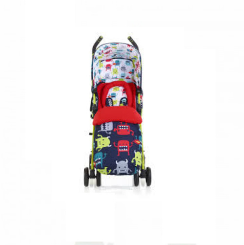 Cosatto Supa Pushchair – Cuddle Monster 2 with FREE Footmuff + Raincover