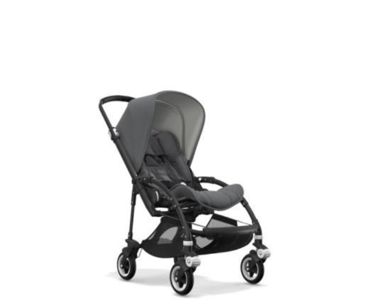 Bugaboo Bee 5 Complete - Classic Grey Melange Black Chassis