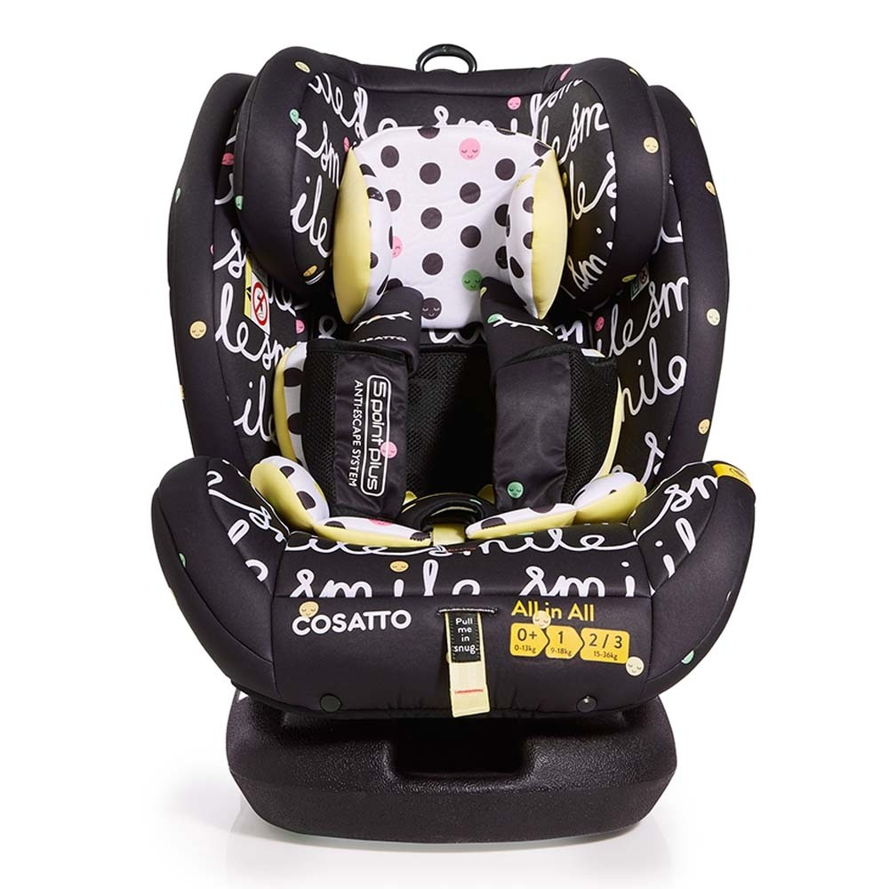 Cossato All in All Group 0+1 Smile Car Seat