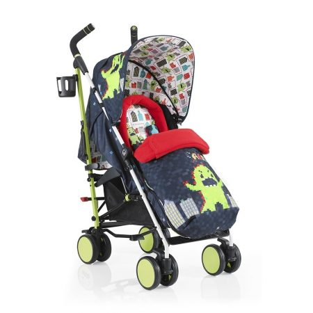 Cosatto Supa Pushchair - Monster Arcade with FREE Footmuff + Raincover