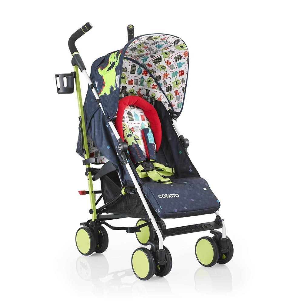 Cosatto Supa Pushchair – Monster Arcade with FREE Footmuff + Raincover