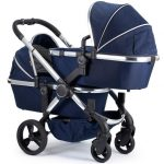 Icandy peach indigo chrome chassis blossom twin