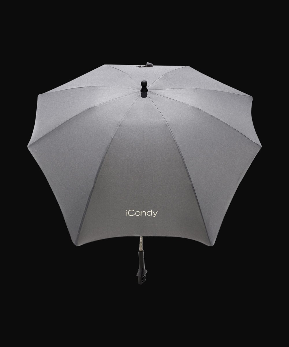 icandy light grey parasol
