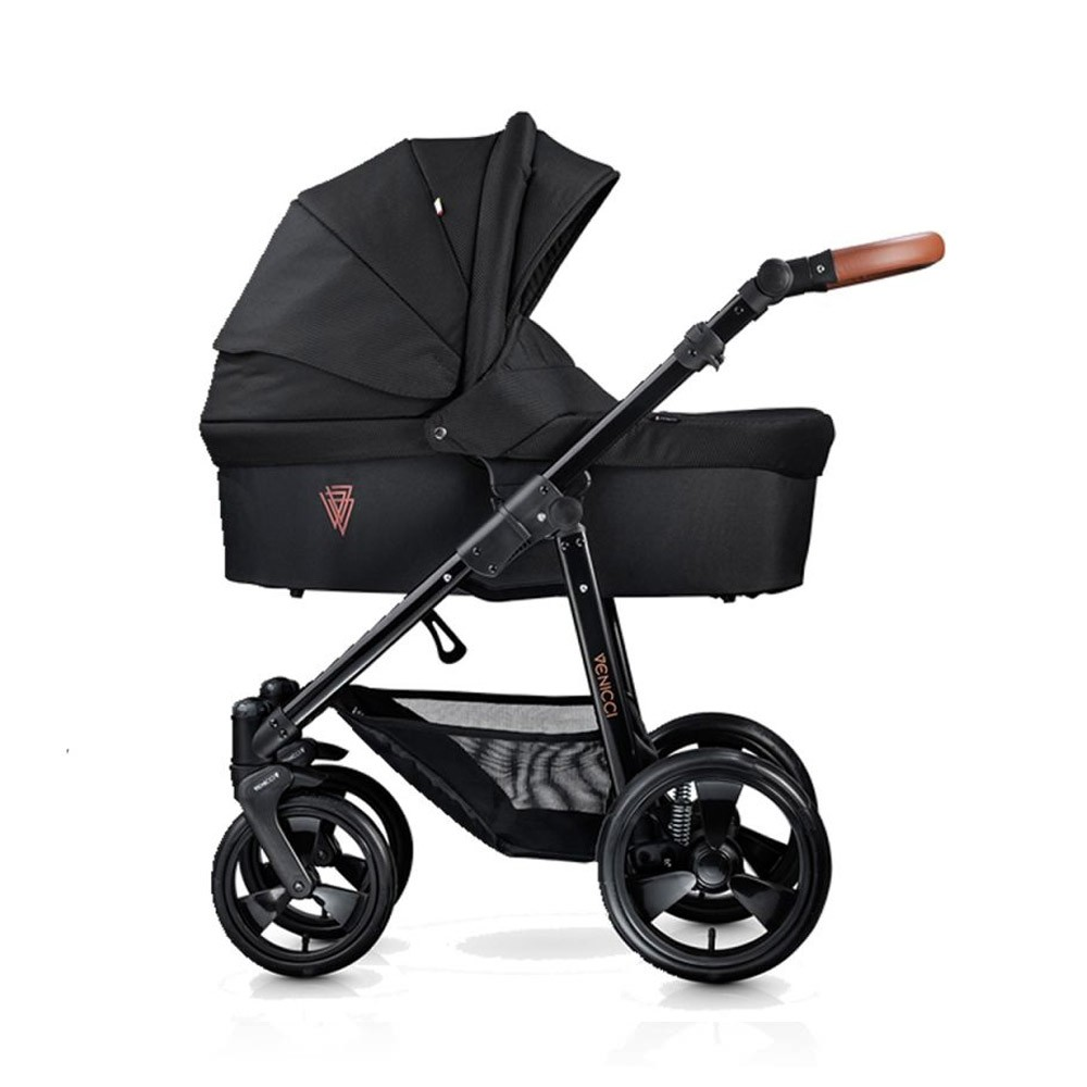 Venicci Gusto Tan Black Pushchair Carrycot Amp Car Seat