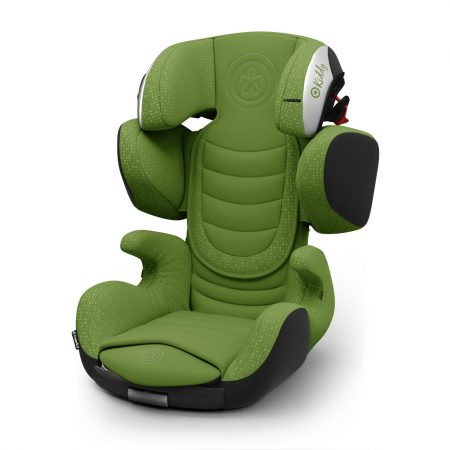 Kiddy Cruiserfix 3 Cactus Green Isofix Group 2 & 3 Child Car Seat 4 to 12 Years